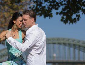 Tango am Rhein