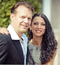 Portrait: Nina Gonzales und Uwe Kops